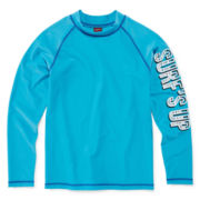Arizona Long Sleeve Ahoy Rash Guard - Boys 8-20