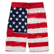 Arizona Americana Swim Trunks - Boys 8-20