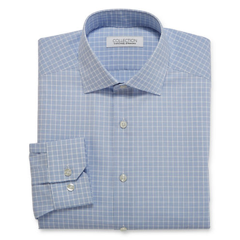 Collection by Michael Strahan Cotton Stretch Dress Shirt