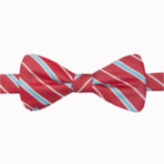 Stafford® Seasonal Stripe Self-Tie Bow Tie