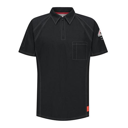 Bulwark® Flame-Resistant Short-Sleeve Polo - Big & Tall