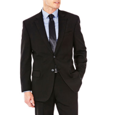 jcpenney.com | Haggar® Premium Stretch Black Suit Jacket - Classic Fit