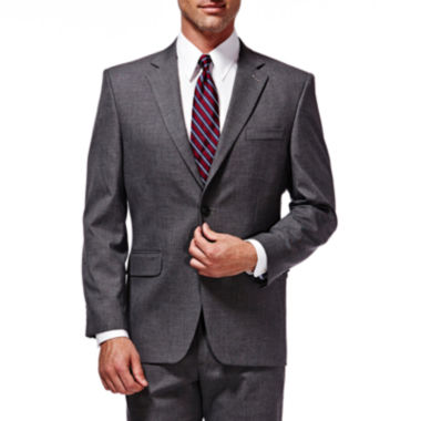 jcpenney.com | Haggar® Premium Stretch Grey Suit Jacket - Classic Fit