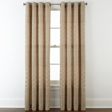 jcpenney.com | Studio™ Henderson Jacquard Grommet-Top Curtain Panel