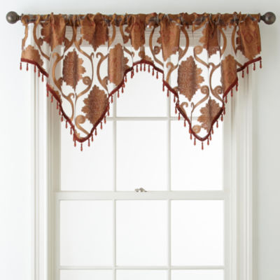 Royal Velvet® Belgravia Rod-Pocket Ascot Valance