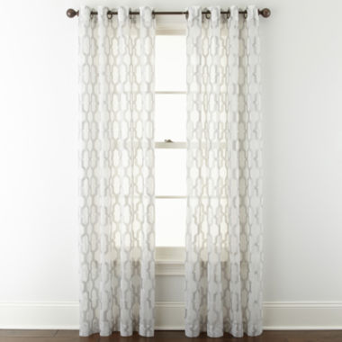 jcpenney.com | Studio™ Casey Sheer Grommet-Top Curtain Panel