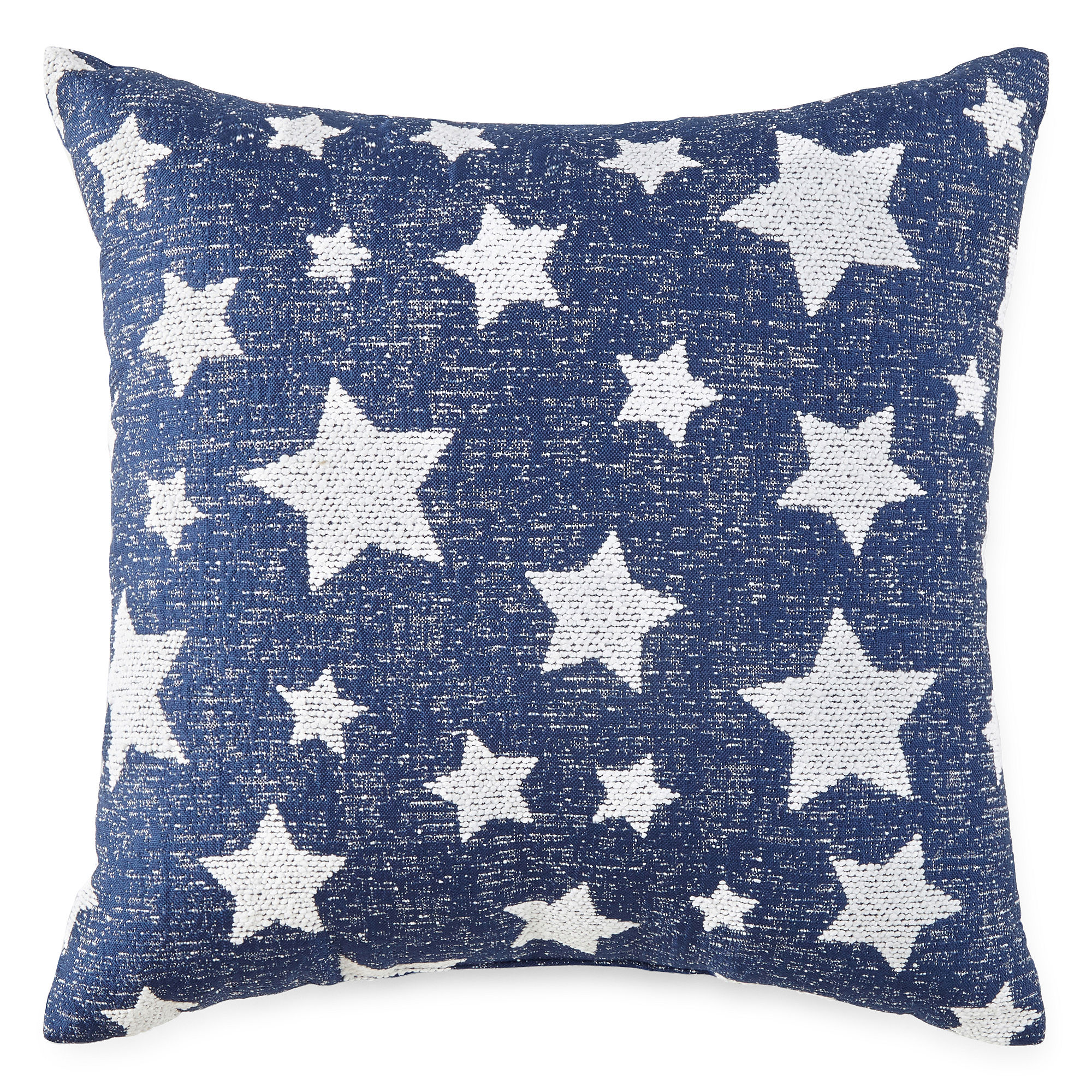 Jcpenney Decorative Pillow : UPC 073705010018 - JCPenney Home American Stars Square Decorative Pillow upcitemdb.com