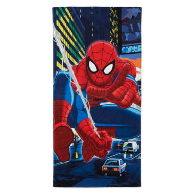 jcpenney.com | Spider-Man® Night City Beach Towel