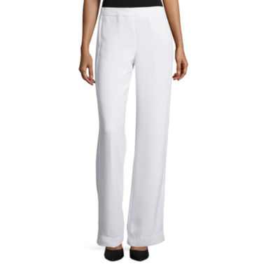 jcpenney.com | Worthington® Seamed Straight-Leg Pants - Tall