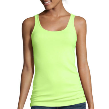 jcpenney.com | Stylus ™ Ribbed Tank Top