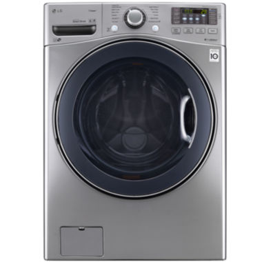 jcpenney.com | LG ENERGY STAR®  4.3 cu. ft. Ultra Large Capacity Turbowash™ Washer With NFC Tag On