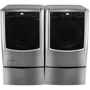 jcpenney.com | LG Gas Washer and Dryer Package with Pedestals