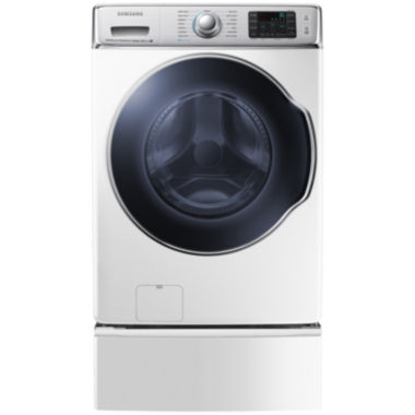 jcpenney.com | Samsung ENERGY STAR®  5.6 cu. ft. High-EfficiencyFront-Load Washer with PowerFoam