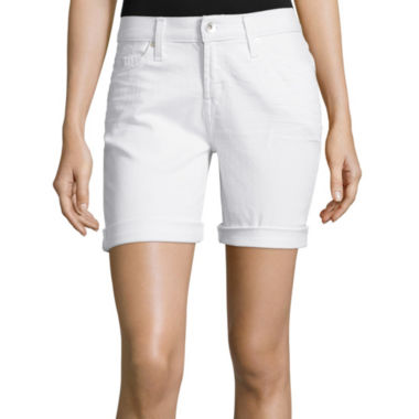 jcpenney.com | Stylus™ Denim Bermuda Boyfriend Shorts - Tall
