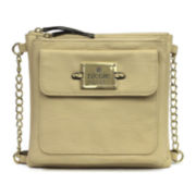 nicole by Nicole Miller® Casey Triple Pocket Crossbody Bag