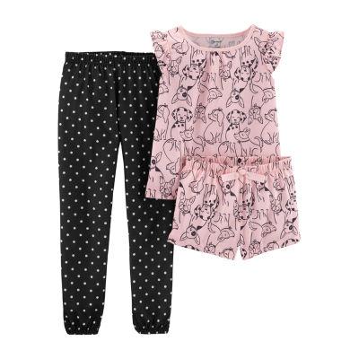 Carter s 3-pc. Pajama Set Preschool   Big Kid Girls - JCPenney 8c305328b