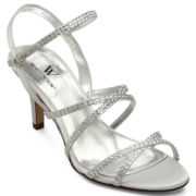 Worthington® Glam Rhinestone Strappy Sandals