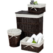 Creative Bath™ Wickerworks 4-pc. Storage Hamper Set