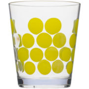 Zak Designs® Dot Set of 6 Double Old-Fashioned Glasses