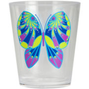 Zak Designs® Flutter Set of 6 Double Old-Fashioned Glasses