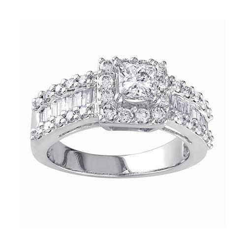 1⅜ CT. T.W. Diamond Engagement Ring