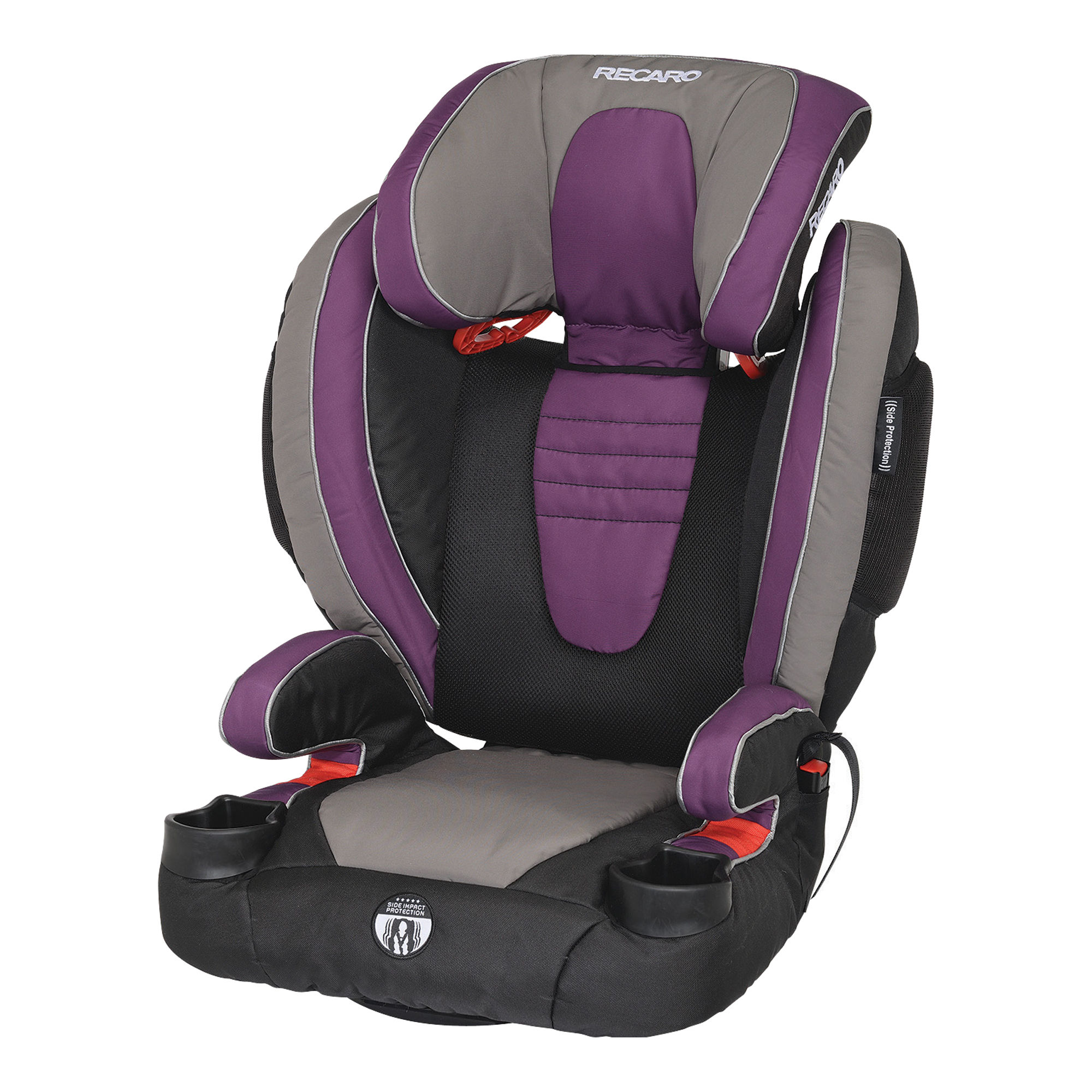 Recaro Performance High-Back Booster Car Seat - Plum