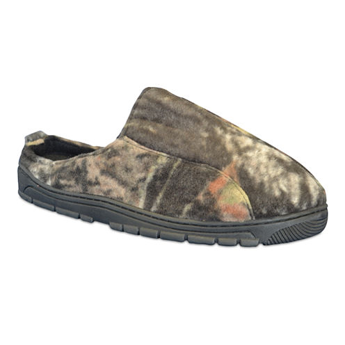 MUK LUKS® Camouflage Clog Slippers