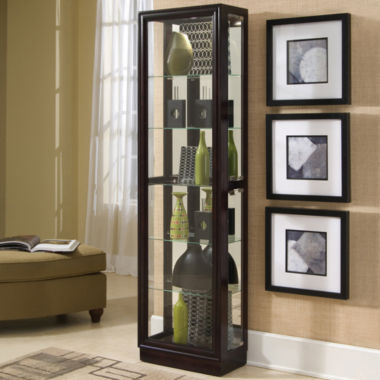 jcpenney.com | Chocolate Cherry Finish Curio Cabinet