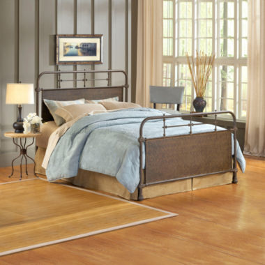 jcpenney.com | Elliot Old Rust Metal Bed or Headboard