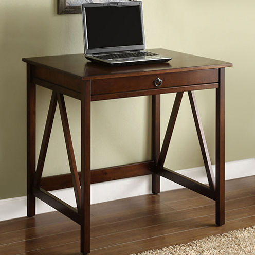 Titian Laptop Desk in Antique Tobacco