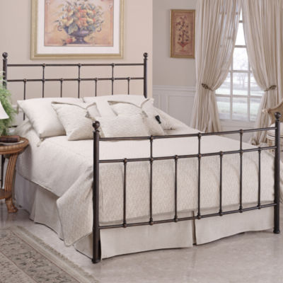 jacob metal bed or headboard - jcpenney
