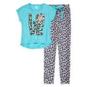 Sleep On It 2-pc. Leopard Print Pajamas – Girls 7-16
