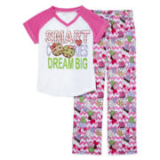 Sleep On It 2-pc. Smart Cookie Pajama Set – Girls 7-16