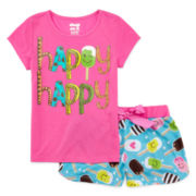 Sleep On It 2-pc. Pajama Shorts Set – Girls 7-16