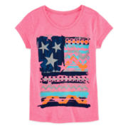 Arizona Americana Graphic Tee – Girls 7-16 and Plus