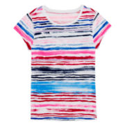 Arizona Stripe Favorite Tee - Girls 7-16 and Plus