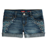 Arizona Tribal Sequin Shorties - Girls 7-16 and Plus