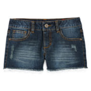 Arizona Crochet Hem Shorties - Girls 7-16 Plus