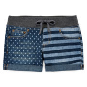 Arizona Flag-Print Shorties - Girls 7-16 and Plus