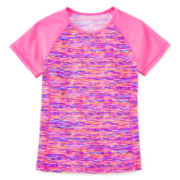 Free Country® Short-Sleeve Rash Guard - Girls 7-16