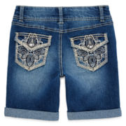 Vanilla Star® Bermuda Shorts - Girls 7-16 and Plus