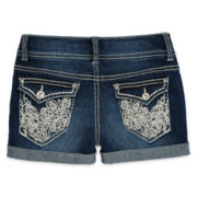 Vanilla Star® Embroidered Shorties – Girls 7-16