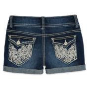 Vanilla Star® Embroidered Shorties - Girls 7-16