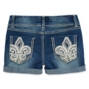 Vanilla Star® Fleur-De-Lis Shorties – Girls 7-16