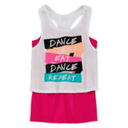 Xersion™ Layered Crop Top – Girls 7-16 and Plus