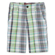 Arizona Print Chino Shorts - Boys 8-20, Slim and Husky