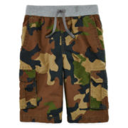 Arizona Knit-Waistband Cargo Shorts - Boys 8-20