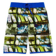 Arizona Surf Photo Swim Trunks - Boys 8-20