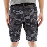 Arizona Belted Ripstop Camo Cargo Shorts