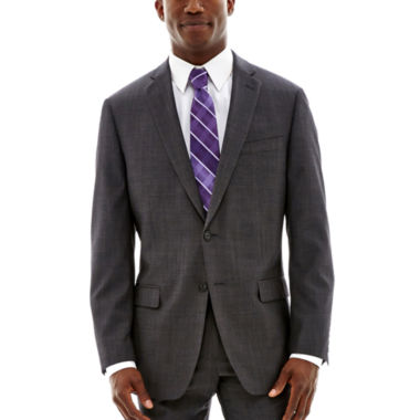 jcpenney.com | Claiborne® Charcoal Herringbone Stretch Suit Jacket - Classic Fit